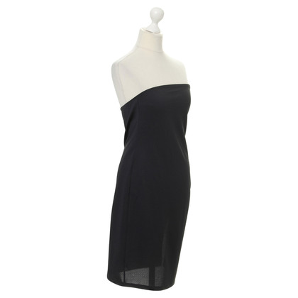 Costume National Bandeau dress with ruffle