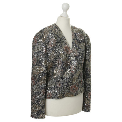 Mani Jacket with gradients and sequins