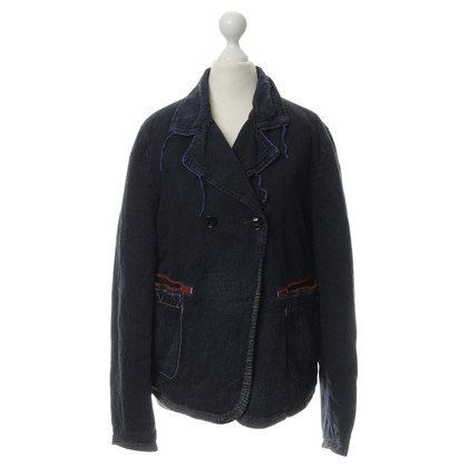 Marithé et Francois Girbaud Jacket in Denimoptik