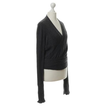 Hermès Kaschmir -Jacke mit Brosche