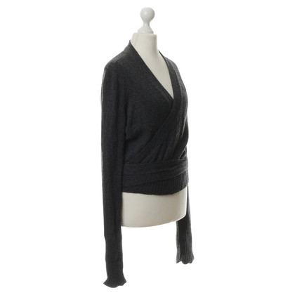 Hermès Giacca in cashmere con spilla