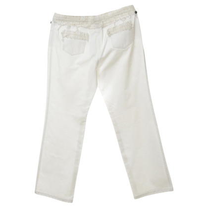 Chanel Pantaloni con motivi ornamentali