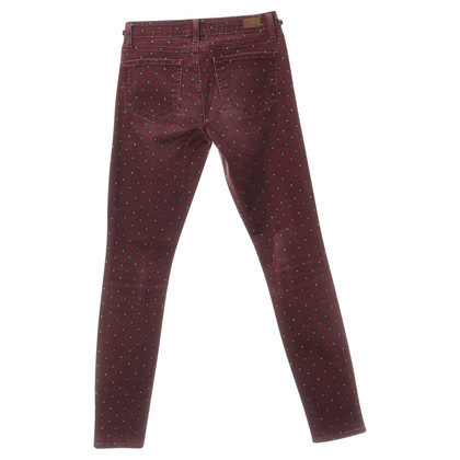 "Paige Jeans Jeans' Verdugo ultra Skinny ""in dark red"