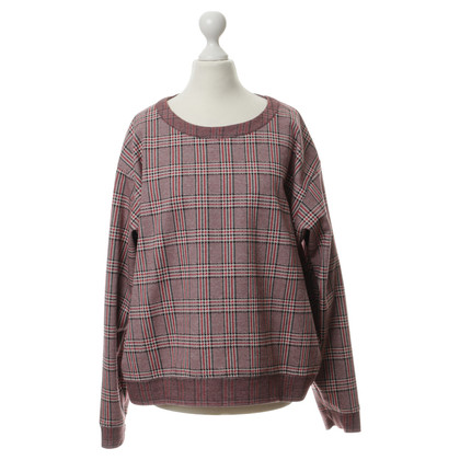 See by Chloé Sweater with Prince of Wales check patterns