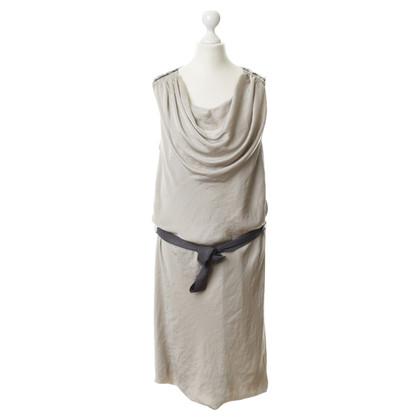 Luisa Cerano Kleid mit Wasserfallkragen