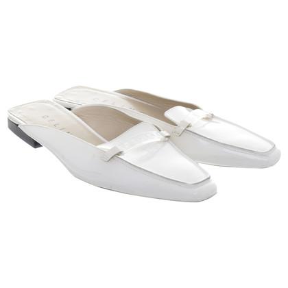 Céline Slipper in white