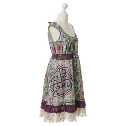 Odd Molly Dress with pattern and lace