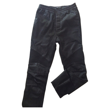 Balmain Jogging pants made of calf leather