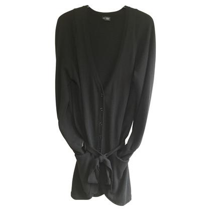 Armani Jeans Black Cardigan