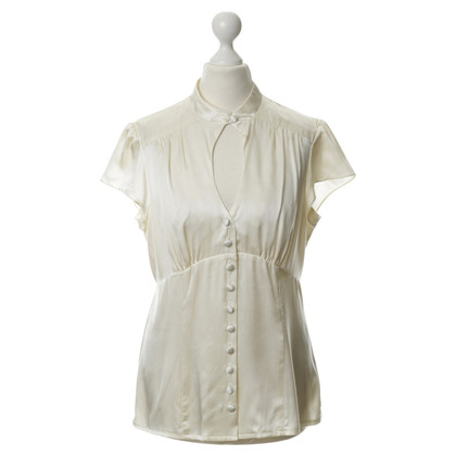 Nanette Lepore Silk blouse with Ruffles