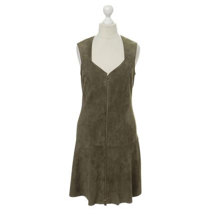 Jitrois Dress in suede