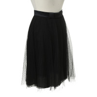 Rena Lange skirt with tulle and Ribbon