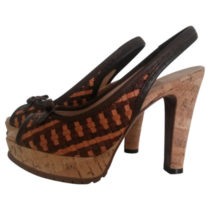 L'autre Chose Sandals with Cork
