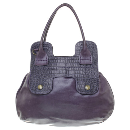 "Hogan ""Guitar Bag"" in Violett"