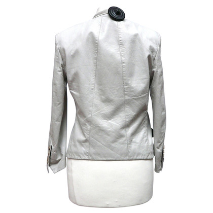Helmut Lang Leather jacket with zip pockets