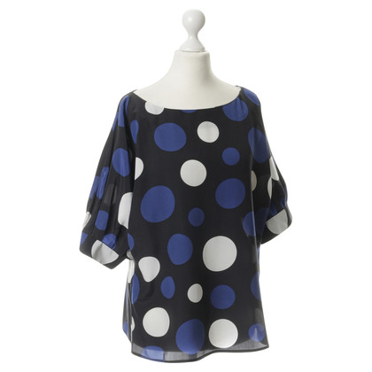 Michael Kors Silk shirt with polka dots