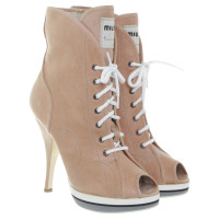 Miu Miu Ankle boots with lacing