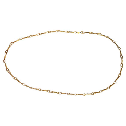 Christian Dior Long gold-plated chain
