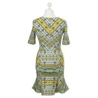 Matthew Williamson Kleid mit Kaleidoskop-Print