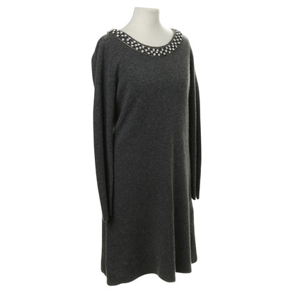 Milly Knit dress with Rhinestone trim