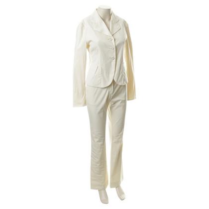 Prada Pantaloni tuta in colori crema