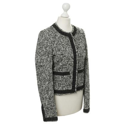 Karl Lagerfeld De bouclé-look-jas
