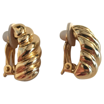 Nina Ricci Gold-plated earrings