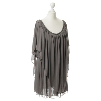 Halston Heritage Dress with Flounce