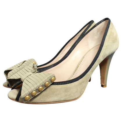 Chloé pumps met open teen