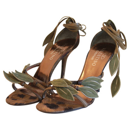 Valentino Sandals with flowers application