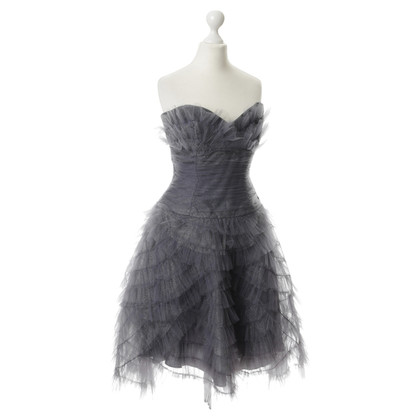 Anna Sui Shimmering tulle party dress