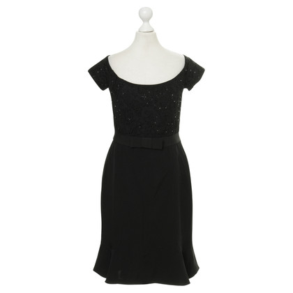 Rena Lange Dress with lace trim