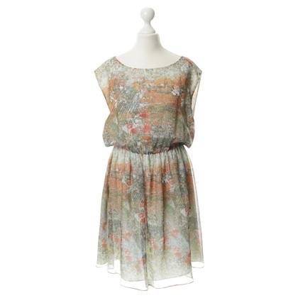 Alice + Olivia Kleid aus Seide