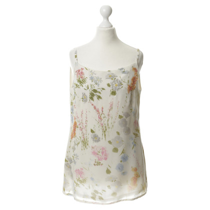 Akris Bead embellished silk top