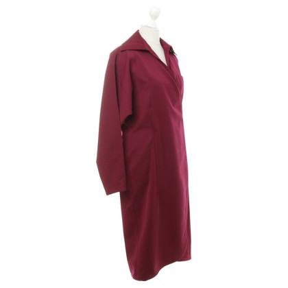 Gianni Versace Dress in Maroon