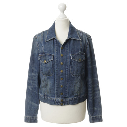 Current Elliott Denim jacket in blue
