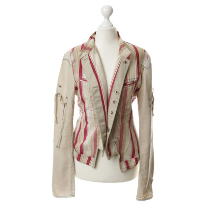 Marithé et Francois Girbaud Jacket with stripe pattern