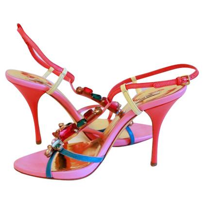 Miu Miu Sandals with Rhinestone