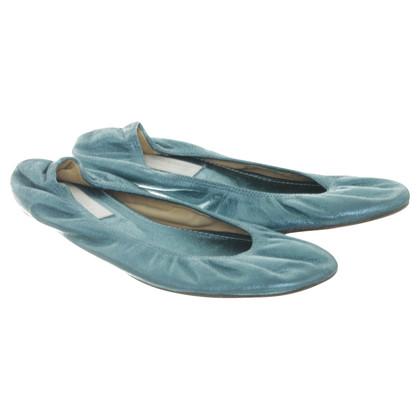 Lanvin Turquoise ballerinas