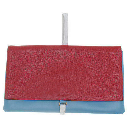 Jil Sander Colorblocking clutch
