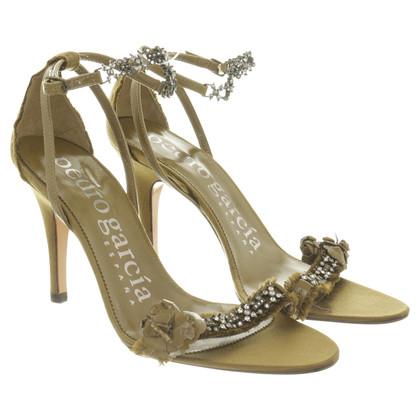Pedro Garcia Groene sandalen