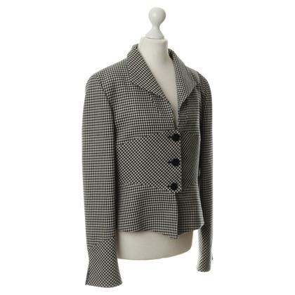 Valentino Blazer with Houndstooth pattern