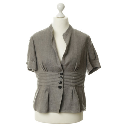 Armani Collezioni Jacket made of linen with waist emphasis