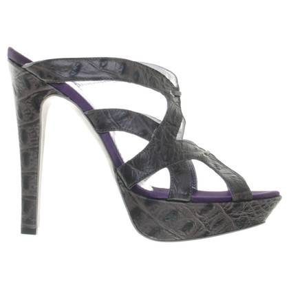 Just Cavalli Mules in reptiel afwerking