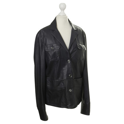 Burberry Burberry Brit Leather jacket in black