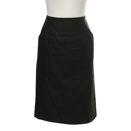 "J. Crew ""Pencil Skirt"" in Dunkelblau"