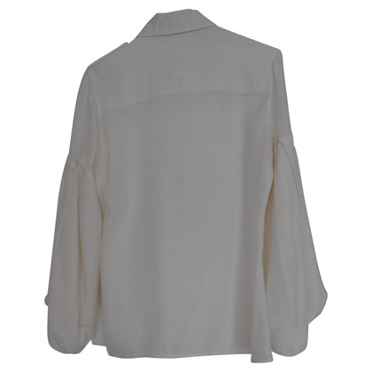 Matthew Williamson White silk blouse