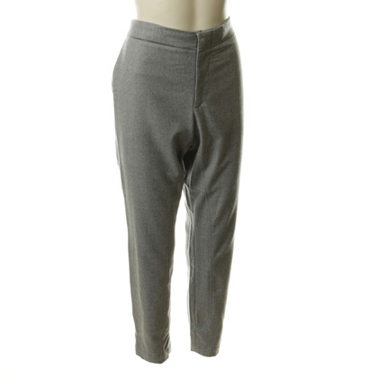 Brunello Cucinelli Wool pant in Heather grey