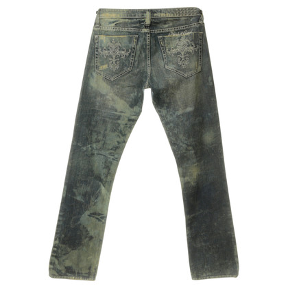 Blessed & Cursed Jeans washings with decorative trim