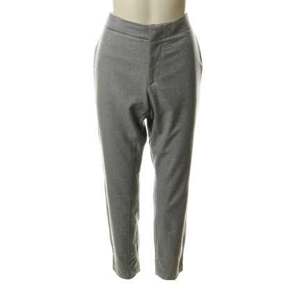 Brunello Cucinelli Wol pant in Heather grey